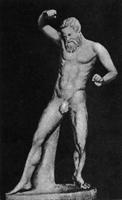 Марсий. Мирон. Римская копия. Мрамор. Рим, Ватикан. II четверть V в. до н.э.