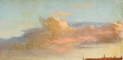 Этюд неба (Э. Дега, ок. 1856-1858 г.)