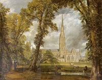 Вид на собор в Солсбери из епископского сада (Дж. Констебль)