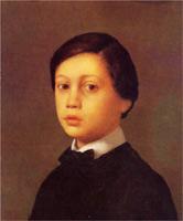 Портрет Рене Дега (Э. Дега, 1855 г.)