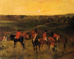Начало охоты (Э. Дега, 1863-1865 гг.)