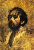 Автопортрет (Э. Дега, ок. 1863 г.)