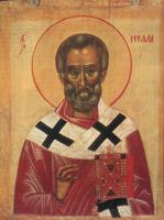 Cвятой Николай Чудотворец (Икона XIV-XV вв.)