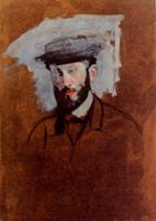 Портрет Юджина Мане (Э. Дега, ок. 1875 г.)