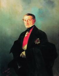 Портрет А.И. Казначеева (И.К. Айвазовский, 1848 г.)