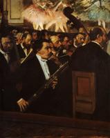 Оркестр оперы (Э. Дега, 1868-1870 гг.)
