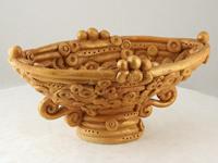 Сувенир Декоративная ваза. Шамот.