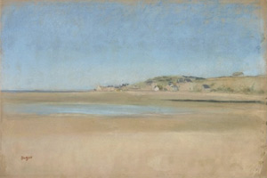 Дома на берегу моря (Э. Дега, ок. 1869 г.)