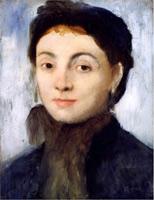 Портрет Жозефины Гойелин (Э. Дега)