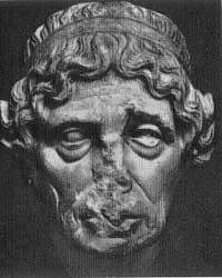 Портрет жрицы Лисимахи (Деметрий из Алопеки. Римская копия. Мрамор. Лондон, Британский музей)