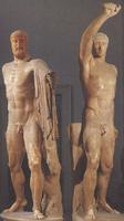 Тираноуюийцы Гармодий и Аристогитон. Критий и Несиот. 470-е гг. до н.э.