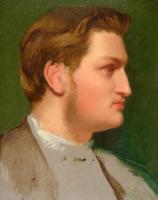 Портрет Поля Вальпенсона (Э. Дега, 1855 г.)