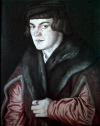 Автопортрет (Ганс Бальдунг Грин, 1526 г.)
