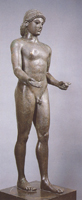 Аполлон из Пьомбино. Около 475 г. до н.э. Париж, Лувр
