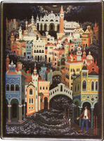 Воспоминание о Венеции (Ходов В.М., шкатулка, 1979)