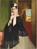 Тереза Дега (Э. Дега, ок. 1863 г.)