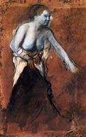 Женщина с обнаженным торсом