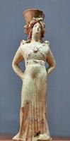 Менада. Фигурный сосуд. Афины, IV в.д.н.э. Некрополь Фанагории