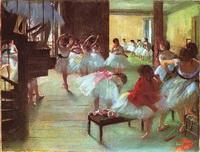 Балетная школа (Э. Дега)