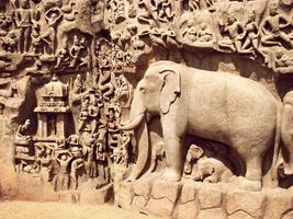 Покаяние Арджуны (Индия. 7 век н.э.)