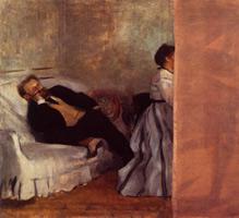 Месье и мадам Эдуард Мане (Э. Дега, 1868-1869 гг.)