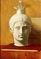 Кувшин в виде головы молодого человека (Э. Дега, ок. 1855 г.)