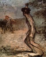 Давид и Голиаф (Э. Дега, 1864 г.)