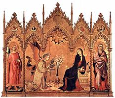 Благовещение (Симоне Мартини. 1333)