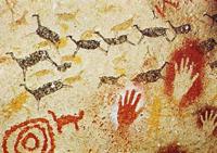 Наскальные рисунки в пещере Альтамира (Кантабрия, Испания)