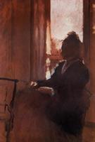 Женщина в окне (Э. Дега, 1871-1872 гг.)