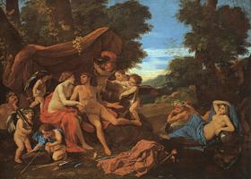 Марс и Венера (Никола Пуссен, 1627-29 гг)