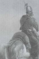 Фрагмент картины «Всадник на коне» французского живописца Б.-Э.Свебаха после реставрации