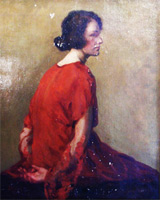 Портрет мадемуазель Карпентир (Э. Дега)