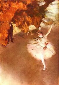 Прима балерина (Э. Дега, 1878 г.)