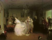 Сватовство майора (Федотов П.А., 1848 г.)
