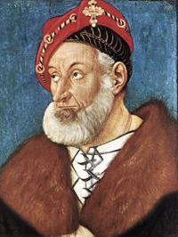Портрет Кристофа Баденского (Ганс Бальдунг, 1515 г.)