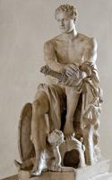 Скопас. Арес Людовизи (Копия с греческого оригинала, IV в. до н.э.)