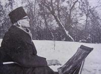 А.А. Шовкуненко на этюдах (1969 г.)