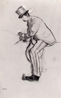 Жокей-любитель (Э. Дега, 1870 г.)