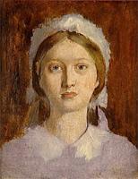 Портрет Маргариты Дега (Э. Дега, 1858-1860 гг.)