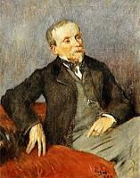 Эварист де Валери (Э. Дега, 1868 г.)