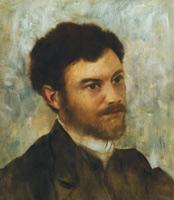 Портрет мужчины (Э. Дега, 1868-1872 гг.)