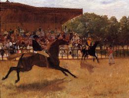 Фальстарт (Э. Дега, 1869-1872 гг.)
