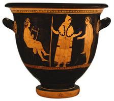 Древнегреческая ваза (ок. 440 г. до н.э.)