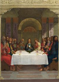 Святое причастие (Эрколе де Роберти, 1490 г.)