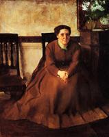 Виктория Дюбурж (Э. Дега, ок. 1866 г.)
