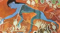 Собиратель Шафрана (Фреска Кносского дворца)