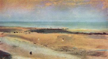 Побережье в Эббе (Э. Дега, 1869-1870 гг.)