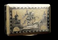 Табакерка (Великоустюгская чернь)