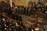 Чтение Покаянного канона Святого Андрея Критского